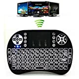 REES52 i8 Mouse Portable Blacklight Wireless 2.4G LED Backlight Keyboard with Touchpad