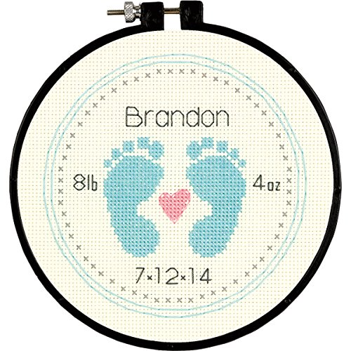 Dimensions Baby Footprints, 6-Inch