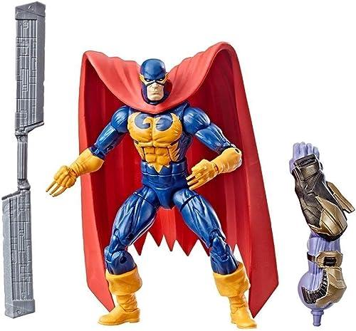 Marvel Avengers Endgame Legend Series - Figurine Nighthawk de 6 Pouces, Modèle de Jouet for Enfants Nighthawk, Convient aux Enfants de 4 Ans et Plus