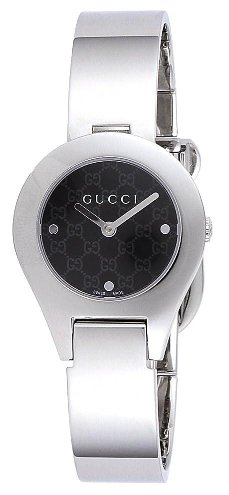 文字グリース聴く[グッチ] 腕時計 6700 ブラック文字盤 YA067505 並行輸入品 シルバー