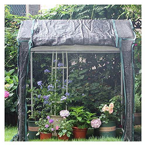 Balcone Plant Green House, semplice ripiano pianta nel cortile, isolamento vegetale e protezione a freddo, 3 colori, 2 taglie (colore: bianco, dimensioni: 150x150x195cm) * No. del prodotto: WWT-66
