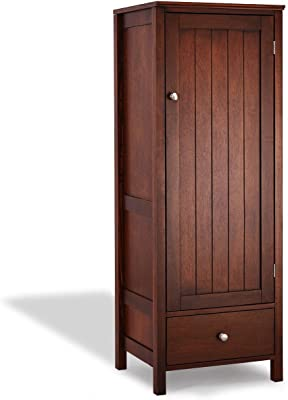 Wood Kitchen Storage Cupboard Floor Cabinet - by Choice Products
