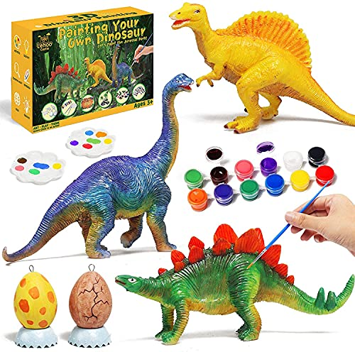 Lehoo Castle Pinturas para Niños Juegos de Manualidades Pintar Dinosaurios Pintar...