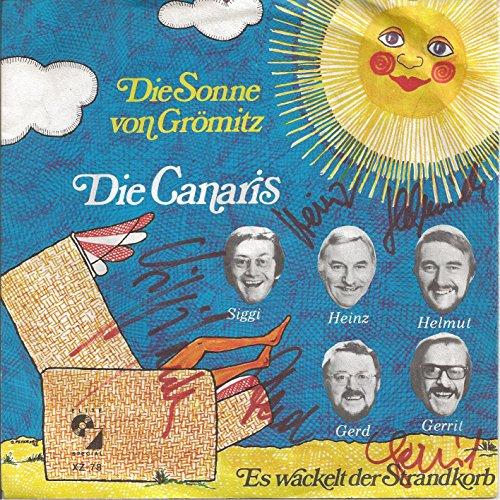 Die Sonne von Grömitz / Es wackelt der Strandkorb (Mit Original-Autogrammen) / XZ 78