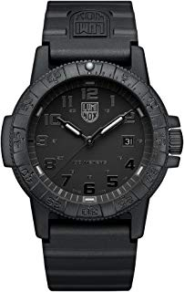 Luminox Mens Analogue Classic Quartz Connected Wrist Watch with PU Strap XS.0321.BO.L