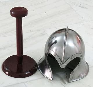 Vintage Armour Store European Medieval Armour Barbuta Helmet Re-enactment Larp Costume Replica Helmet