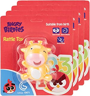 Angry Birds-Rattle Toy Cow (Pack of 4)