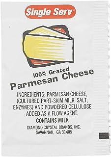 Single Serv Parmesan Cheese Packets, 3.5 Gram -- 200 per case.