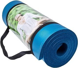 QUBABOBO Esterilla de Yoga 10 mm de Espesor Antideslizante y