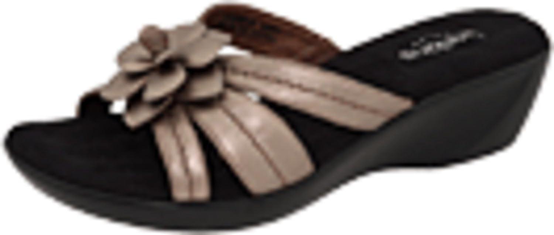 Walking Cradles Women's Cali W0288819 Flowered Slide Sandal