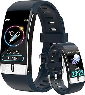 Smartwatch con Medidor de Temperatura Corporal, Reloj Inteli