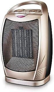 JJLL 20W / 750W / 1500WCeramic Calentador de espacios, calefactor eléctrico portátil con protección contra el sobrecalentamiento y de vuelco Protección, ETL calentador personal con termostato ajustabl