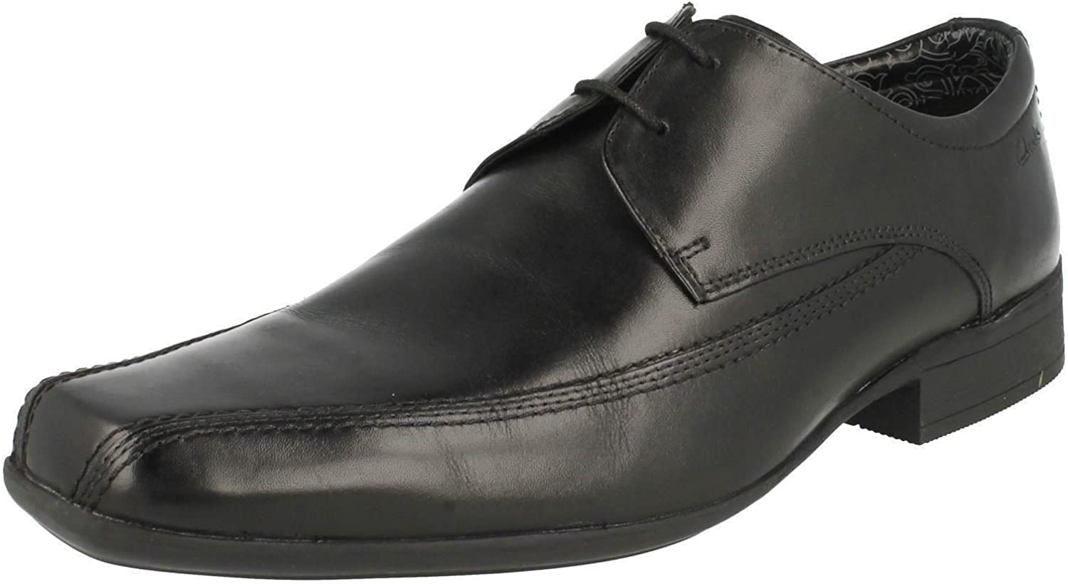 Clarks Men's Lace-Up Derby shoes Aze Day Black Leather