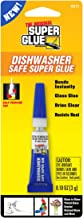 Super Glue 15171-12 Dishwasher Safe Glass Glue Tube, 3g
