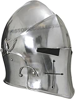 Visored Barbuta Helmet Armour
