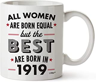 100th Birthday Gifts For Women Hundred Years Old Gift Mugs Happy Funny 100 Womens Womans Wifes Female Best Friend 1919 Mug Unique Ideas 19 Woman Wife Gag Dad Cute Girls Good Husband