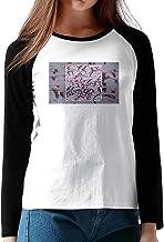 Deftones Gore Album Review 2016 Women Pattern Long Sleeve Raglan Tee Shirts