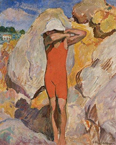 Het Museum Outlet - Kind in Rode Panty's - Canvas Print Online Kopen (40 X 50 Inch)