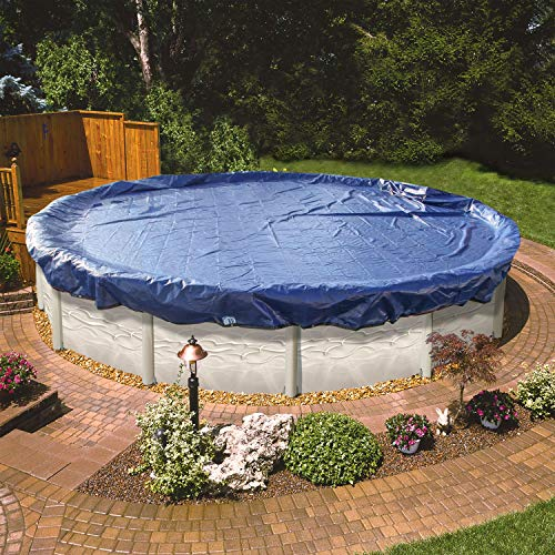 24 Foot Round Pool Cover for Above Ground Pools. The Strongest 24' Winter Pool Covers for Above Ground Pools to Winterize Your Swimming Pool. Extra Thick, Insanely Durable, Solidly Constructed.