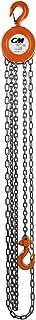 CM Series 622 Hand Chain Hoist 10' Lift, 1/2 Ton Cap.