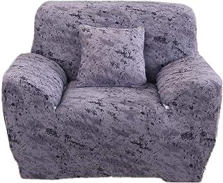 Lidylinashop Fundas de Sofa Anti Gatos Fundas Sofas Elástico Cubierta del sofá Cubierta de sofá Estirar sofá Cubre Fundas de Silla reclinable para sillones 145-185,Gray