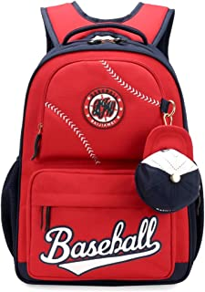 8aa159a6c3 Fanci Baseball Cap Primary School Backpack for Teens Boys Elementary School  Bookbag with Coin Purse