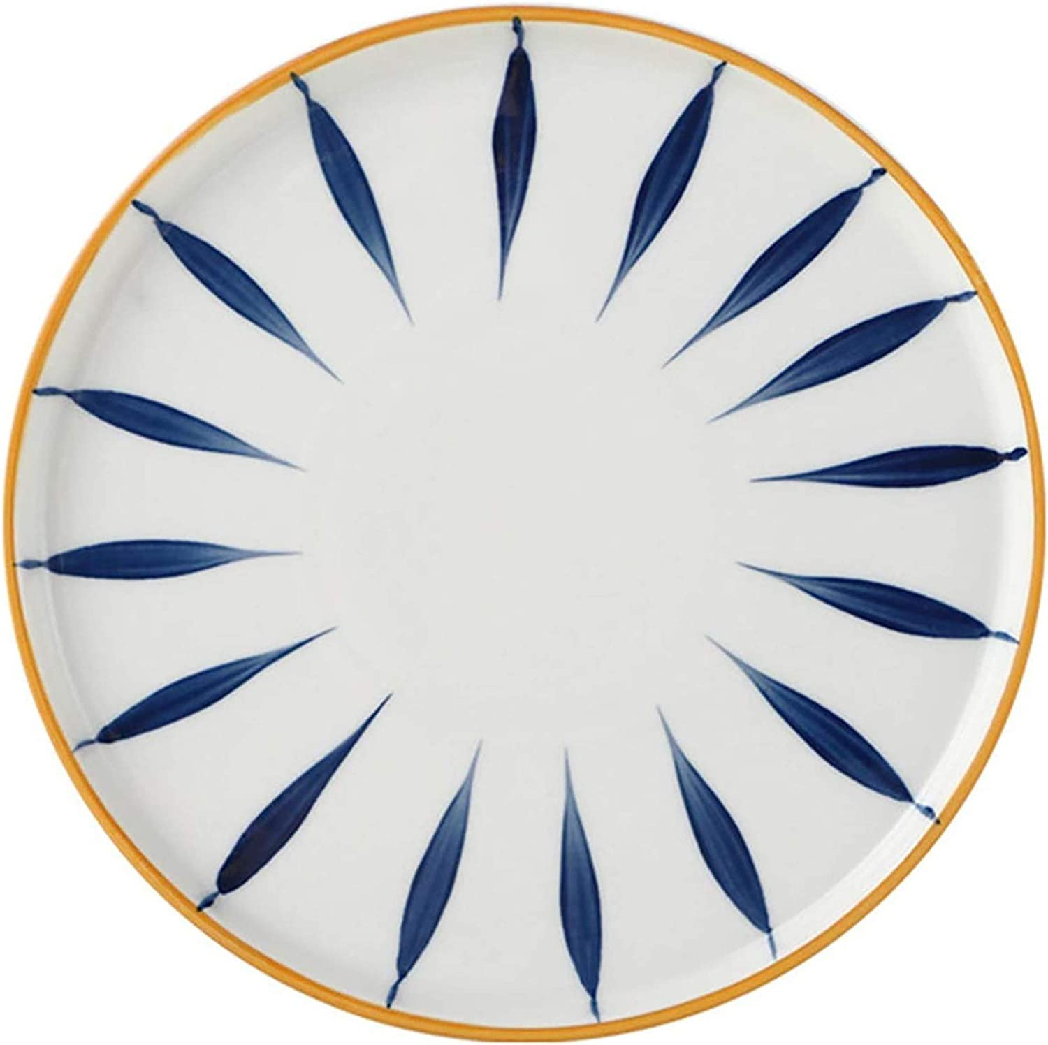 Outstanding WDZJM Dinner plate Japanese-style hand-painted personalized Outstanding dee