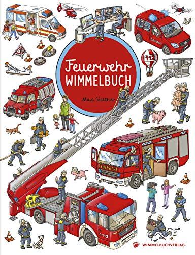 Feuerwehr Wimmelbuch - Das große Bilderbuch ab 2 Jahre: Kinderbücher ab 2 Jahre