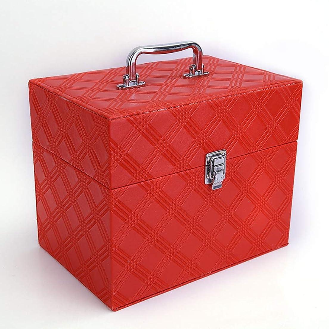 バクテリア不実びんメイクボックス コスメボックス 化粧品入れ 化粧箱 大容量 プロ用 ミラ付き 化粧道具入れ 収納ケース 防水 小物入れ 自宅?出張?旅行 持ち運び ハンドル付き 収納ボックス ロック付き 安全