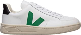 Men V-12 Sneakers Extra White Emeraude Black