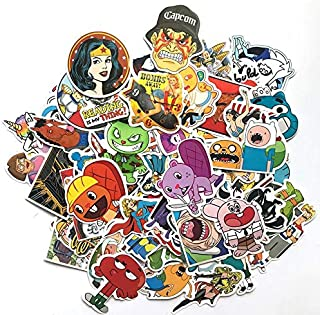 200 Pcs Stickers Mixed Toy Cartoon Skateboard Luggage Vinyl Decals Laptop Phone Car Styling Bike Sticker
