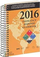 2016 Emergency Response Guidebook (ERG) - Pocket Size, Spiral Bound (English) - 4x5.5