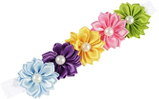 Baby Girls Rainbow Flower Headband Hair Band Accessories TS-FD03