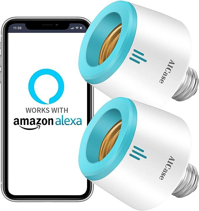 1693 opinioni per ZigBee Smart Home WLAN wifi socket swtich per E26/E27 lampadina, compatibile con