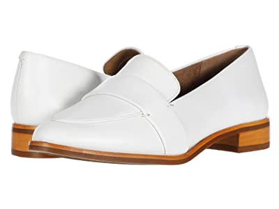 Aerosoles Eden (White Leather) Women