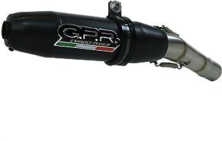"""Preisvergleich für 'GPR Italien K.152.Dene Terminal zugelassen mit Verbindungsstück Kawasaki Z 800e 2013/16Version""""und depotenziata preisvergleich"""