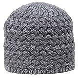 GIESSWEIN Beanie Troiseck - Unisex Merino Mütze mit Fleece Futter, Damen & Herren Strickmütze, Gefütterte Winter Wollmütze