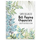 The Best Days Bill Paying Organizer- Softcover, Spiral Bound; Includes 14 Pocket Pages, 32 Label Stickers
