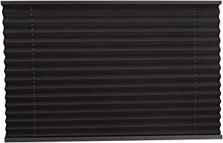 RecPro Pleated Shades in Black for RVs/Campers (38x24)