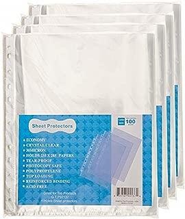 Best 11x17 sheet protectors bulk Reviews