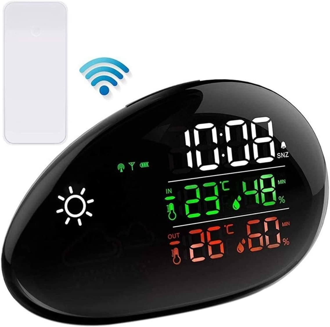 HUIXINLIANG Weather Station Ranking TOP7 Wireless Outdoor Thermometer Selling rankings Indoor