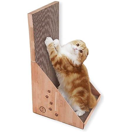 猫壱(necoichi) バリバリボード 一枚板だから丈夫&安定感抜群! (ベージュ)