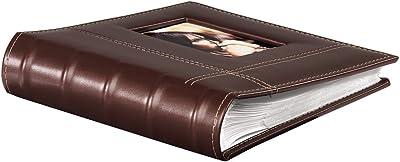 Hama Cera álbum de Foto y Protector Marrón Polipiel - Álbum de fotografía (Marrón, Polipiel, 200 Hojas, 10 x 15, 100 Hojas, 230 mm)