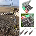 Quality Sea Fishing Set - 2 X 12ft Beachcaster Rods + 2 X Sk7 Sea Reels + Tripod from LINEAEFFE