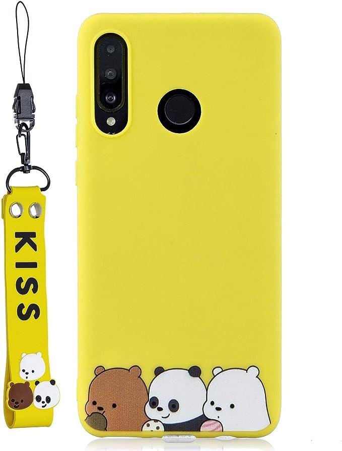 Yobby Hülle Für Huawei P30 Lite Ultra Slim Silikon Matt Amazon De Elektronik