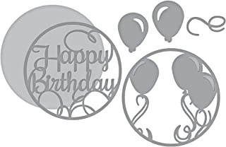 Spellbinders Shapeabilities Layered Happy Birthday Etched/Wafer Thin Die