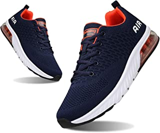 YALOX Mens Sneakers Fashion Air Athletic Slip On Running Shoes Women's Lightweight Breathable Tennis Sports Cross Training Casual Walking Shoes