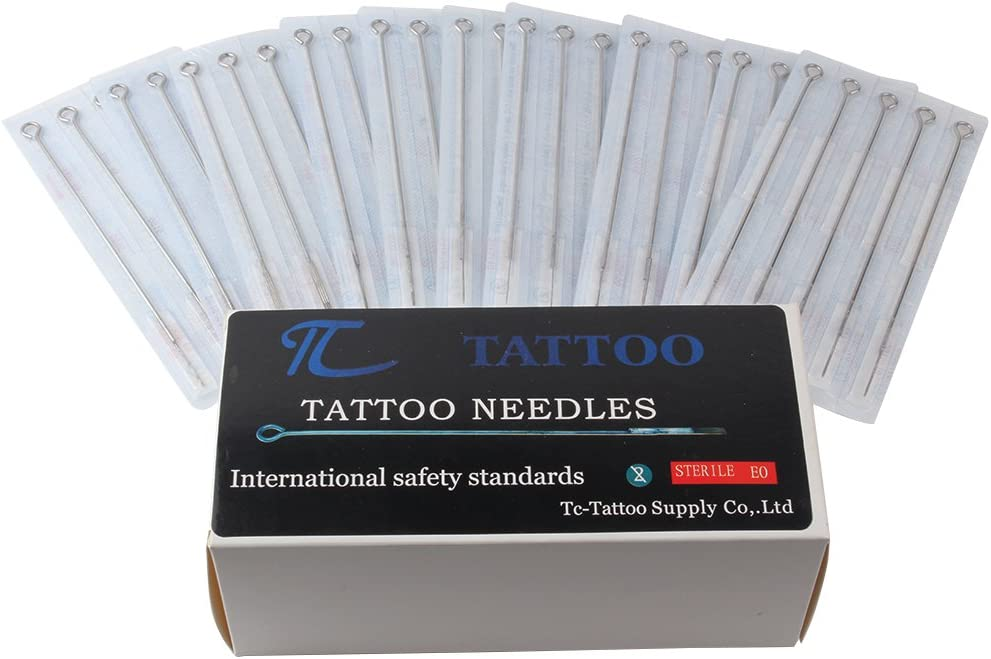 100 Pieces Tattoo Needles- 3rl 5rl OFFicial site 5rs 7rl 9rl 7rs Miami Mall 9r 3rs