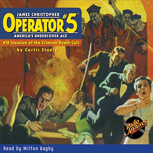 Couverture de Operator #5 #18, September 1935