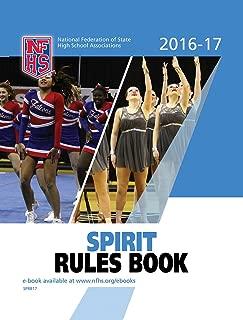 2016-17 NFHS Spirit Rules Book